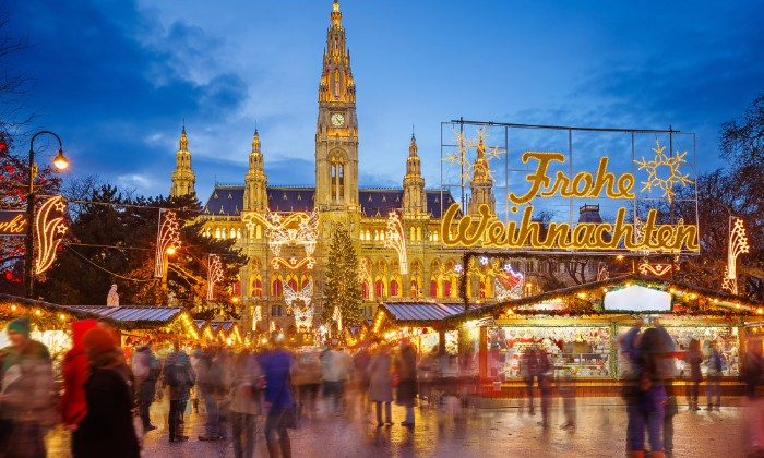 Vianočné trhy vo Viedni