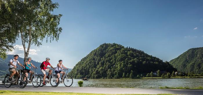Horné Rakúsko cyklotrasa
