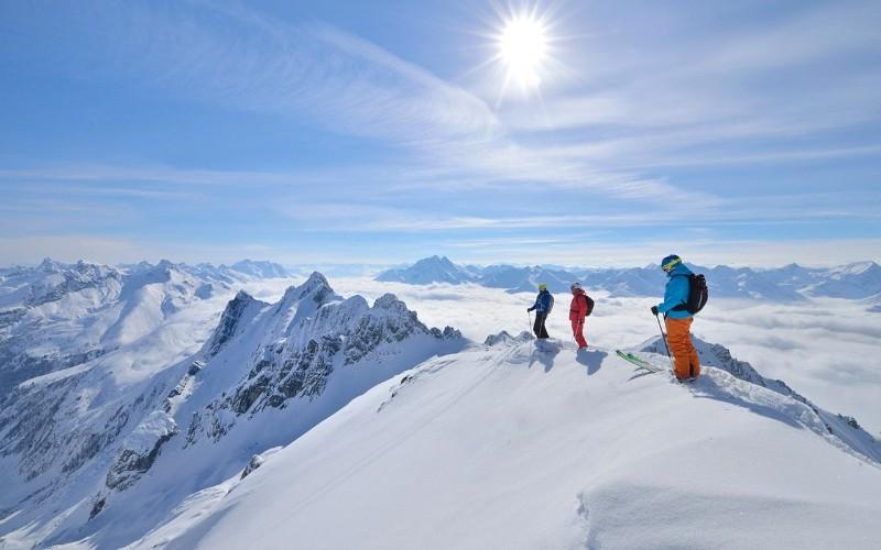 lyžovanie Rakúsko
